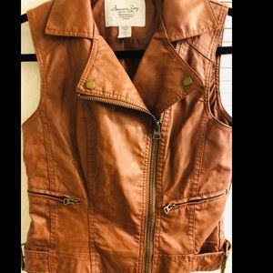 American Rag Leather Vest